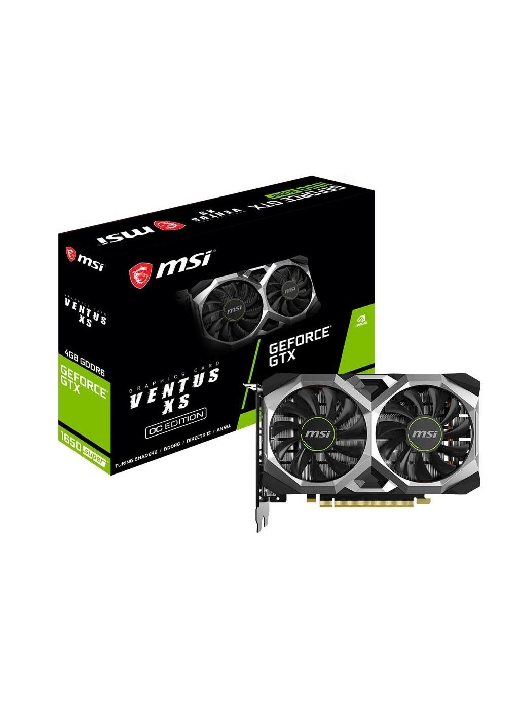 Standart MSI Vga Geforce Gtx1650 Super Ventus Xs Oc 4Gb Gddr6 128B Dx12 Pcıe 3.0 X16 (1Xhdmı 3Xdp)Ekran Kartı